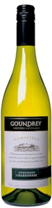 Goundrey Homestead Unwooded Chardonnay - Buy Australian & New Zealand Wines On Line