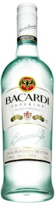 Bacardi Superior Light Rum 700ml - Buy Australian & New Zealand Wines On Line