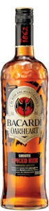 Bacardi Oakheart Smooth Spiced Rum 700ml - Buy Australian & New Zealand Wines On Line